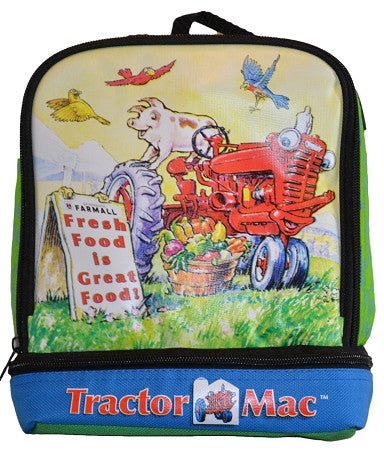 Farmall Tractor Mac Lunch Cooler
