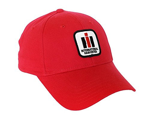 International Harvester Logo Hat, Red - tractorup2