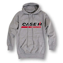 Grey Case IH Logo Hooded Sweatshirt - tractorup2