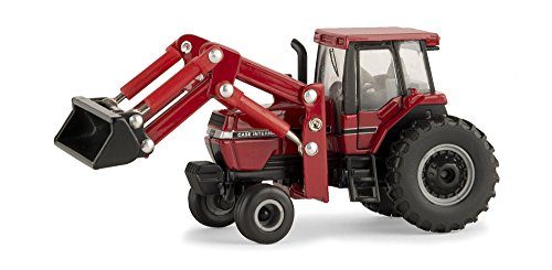 TOMY International 1:64 Case IH Magnum 7110 Tractor with Front End Loader - tractorup2