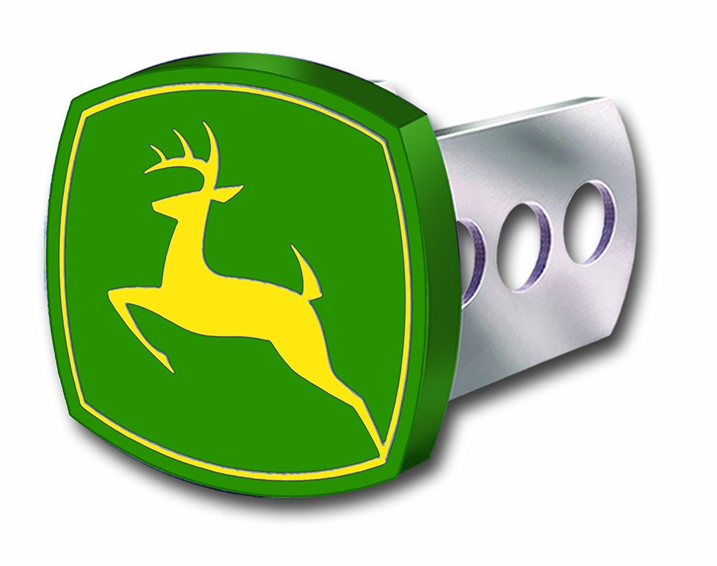 John Deere Full Color Hitch Plug Cover - tractorup2