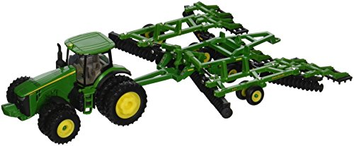 Ertl John Deere 8320R Tractor and Model 637 Disk Set, 1:64 Scale - tractorup2
