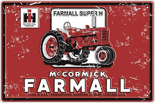 Case IH McCormick Farmall Super H 18