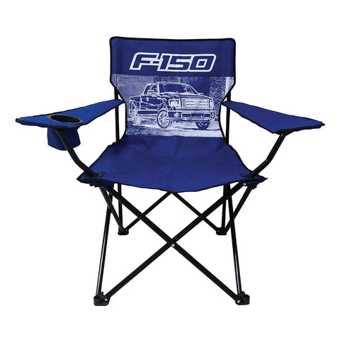 Ford F-150 Truck Big Man Camp Chair with Cup Holder