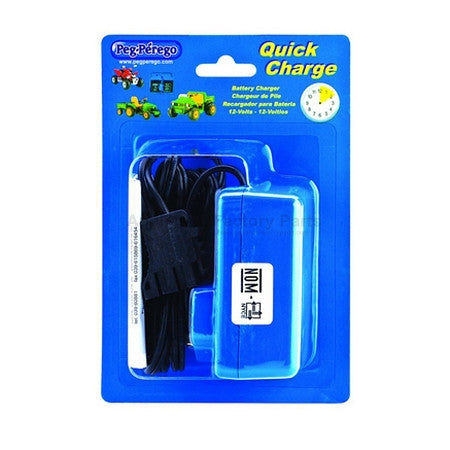 12 Volt Peg Perego QUICK Battery Charger IKCB0082 - tractorup2