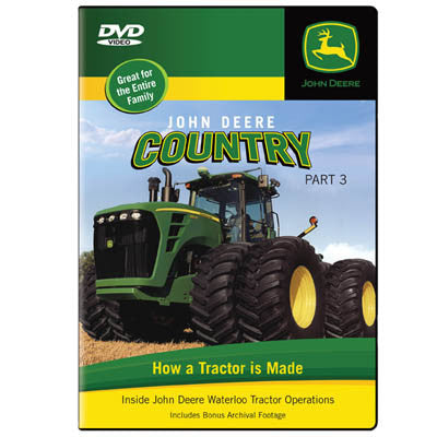 John Deere Country DVD Part 3- How Deere Makes Tractors
