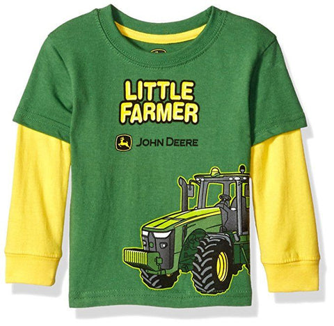 John Deere Baby Boys' Little Farmer Tee