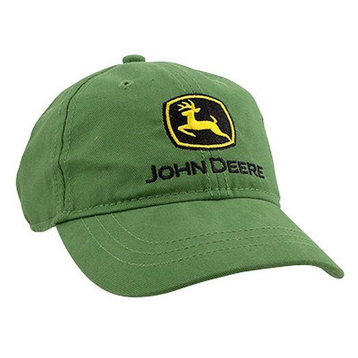 John Deere Youth Green Brushed Hat
