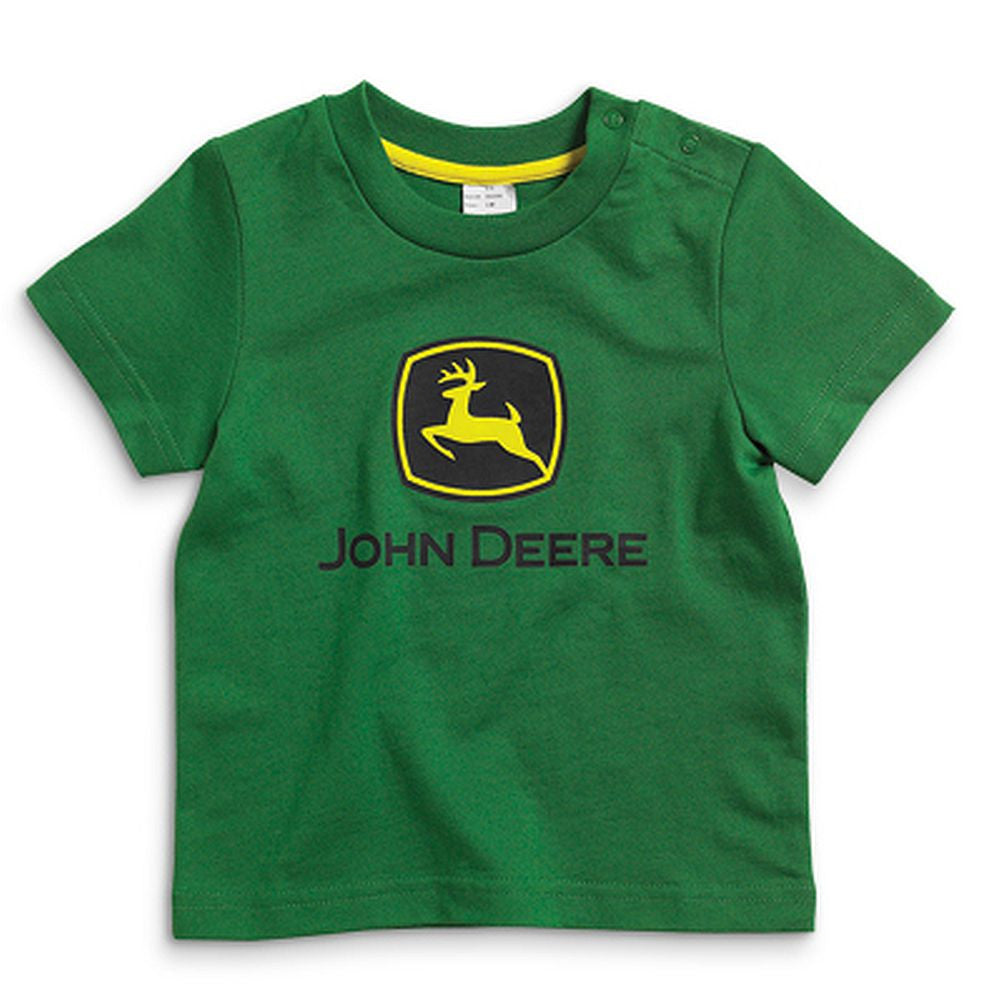John Deere Infant Green with Logo T-Shirt - tractorup2