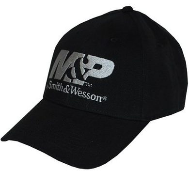 M&P by Smith & Wesson Men's Logo Cap in Black - tractorup2