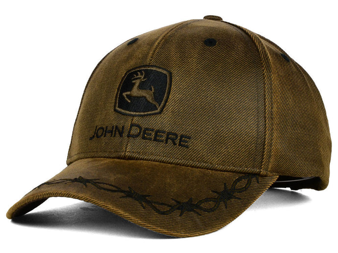John Deere Oilskin Patch Hat