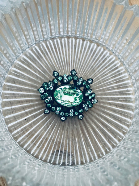 Green Brooch