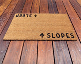 Slopes / Sleep Door Mat ©