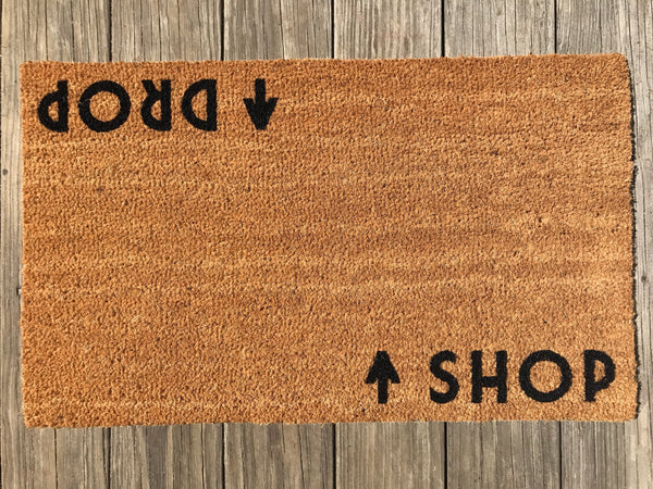 Shop / Drop Door Mat (doormat) – Shopaholic