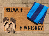 Whiskey / Water Door Mat ©