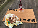 Whine / Wine Door Mat ©