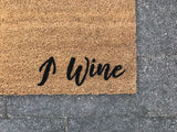 Wine / World Door Mat (Doormat)