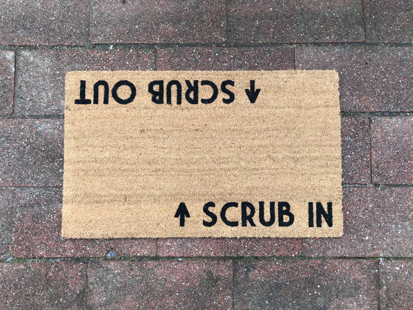 Scrub in / Scrub out Door Mat ©