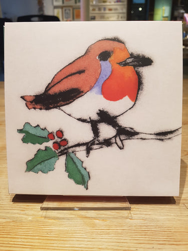 Christmas Card Pack: Robin