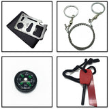 Light Weight and Portable 6 Piece Starter Survival Kit
