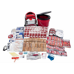 10-Person Bucket Survival Kit with 3 Days of Food