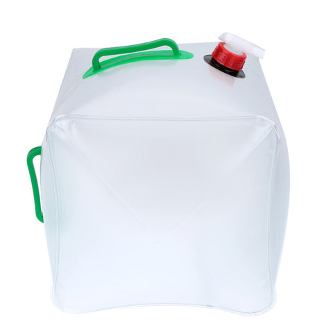 TRAVERSE Collapsible Drinking Water Bag With Plastic Valve (2.5 Gallon OR 5 Gallon)
