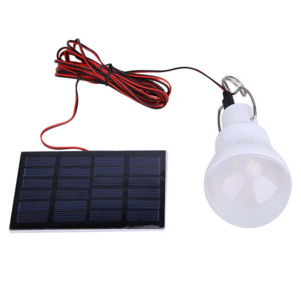 Portable 0.8W/5V 150 Lumens Solar Powered LED Bulb