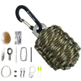 TRAVERSE Paracord Emergency Survival Kit Pod (12-in-1 )