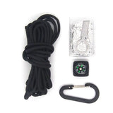 RUGGED Paracord Emergency Survival Kit Pod (10-in-1 )