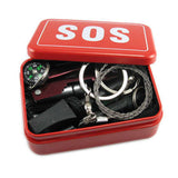 Light Weight and Portable 6 Piece SOS Starter Survival Kit