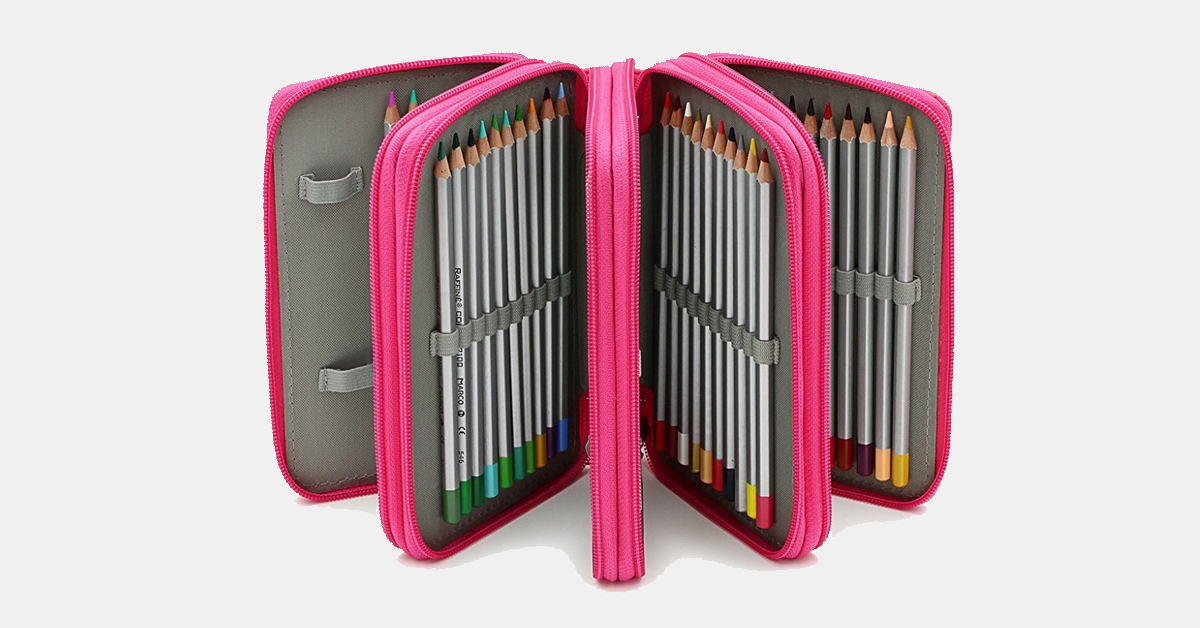 72 Slot Pencil Case