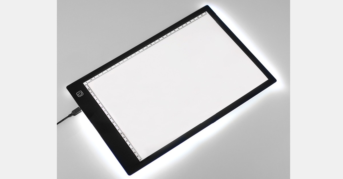 Ultra-thin Portable LED Light Box Tracer USB Power Cable Dimming Brightness LED Artcraft Tracing