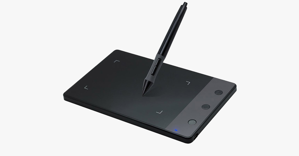 4-Inch Digital Graphics Drawing Tablet