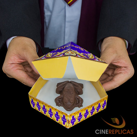 chocolate frog mold harry potter