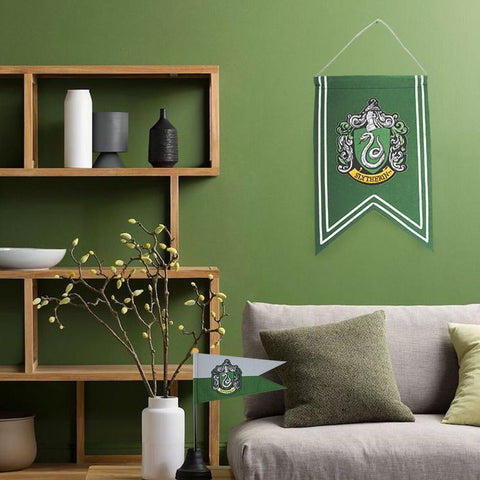 Slytherin Banner & Flag Set