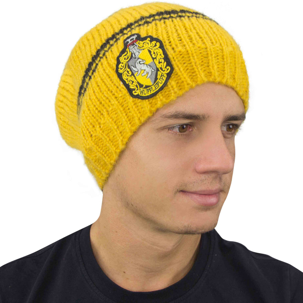 Hufflepuff Slouchy Beanie men Harry Potter
