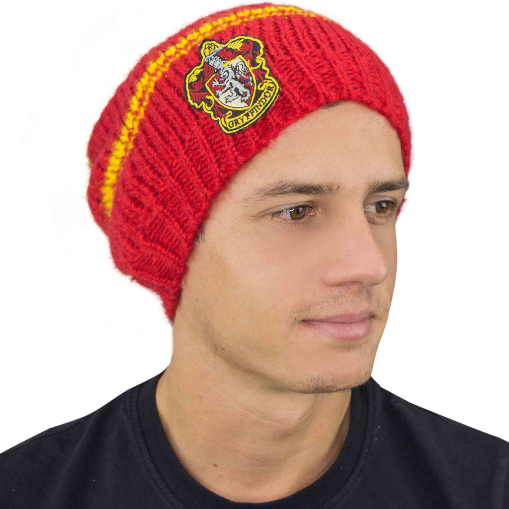 Gryffindor Slouchy Beanie red men Harry Potter