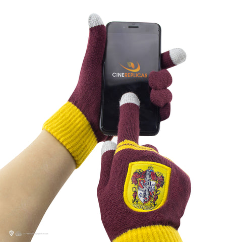 Kids Gryffindor Gloves and  Beanie Set