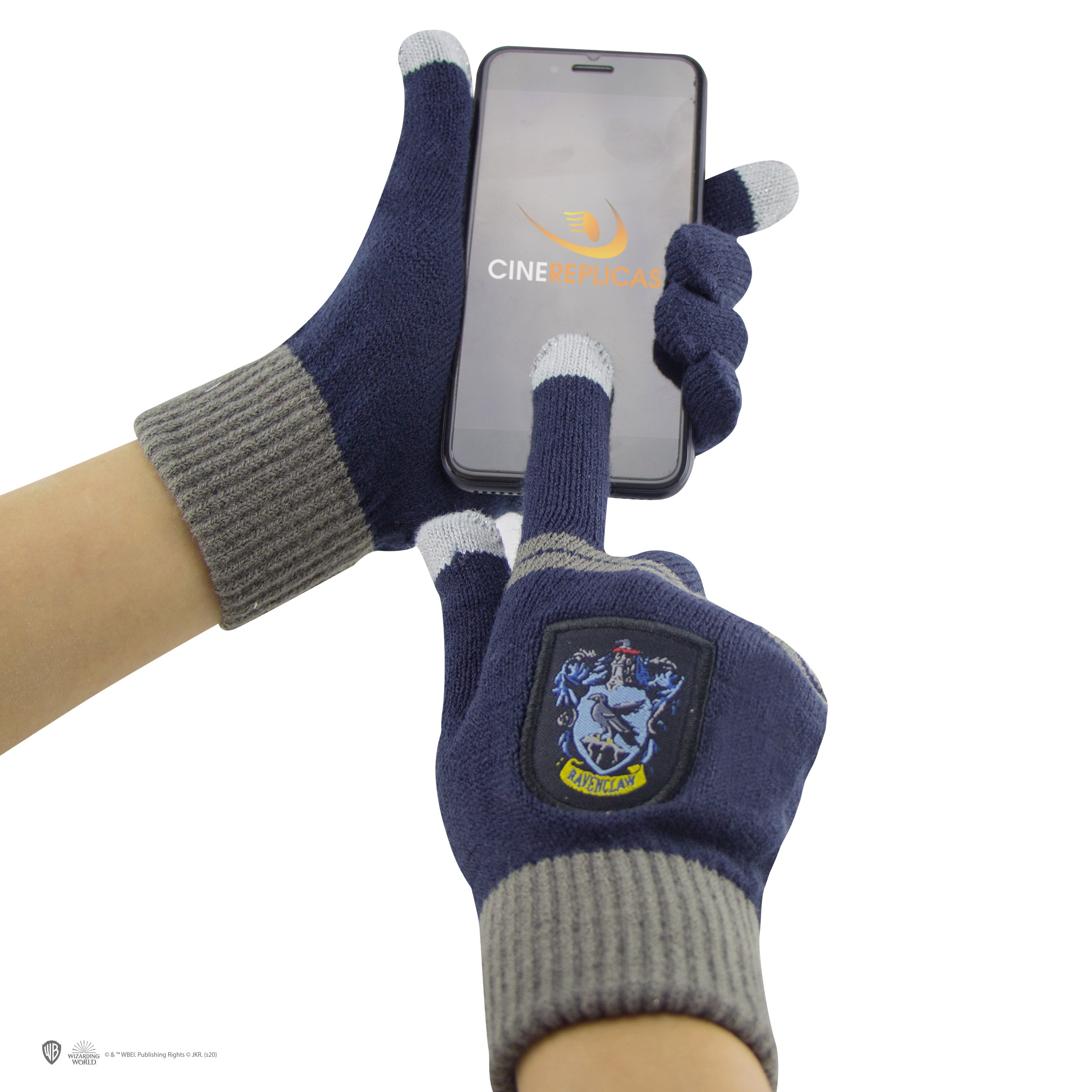 ecaa46be625 Kids Ravenclaw Gloves and Beanie Set