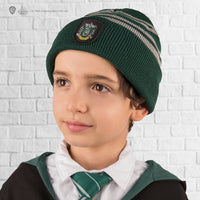 Kids Slytherin Gloves and Beanie Set
