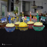3 sets of Harry Potter Birthday Candles (10 candles/set) - Hogwarts Houses