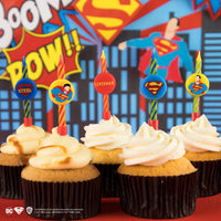 Superman Birthday Candles (Set of 10)