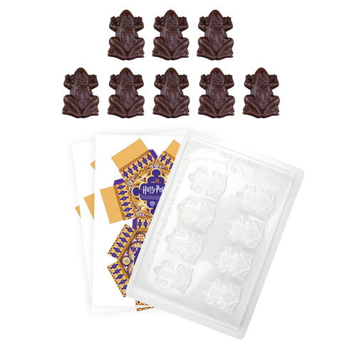 Chocolate Frog Mould (8 cavities) + 8 DIY boxes