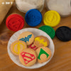 Justice League Interchangeable Cookie Stamps (Set of 5)
