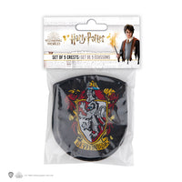 Harry Potter Hogwarts Patches (Set of 5)