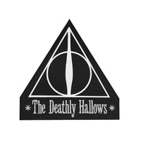 harry potter patch/crest deathly hallows