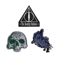 Harry Potter Deluxe Edition Crests/Patches - DEATHLY HALLOWS