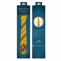 Kids hufflepuff tie packaging harry potter
