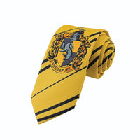 Kids hufflepuff tie harry potter