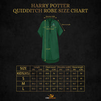 Personalised Slytherin Quidditch Robe